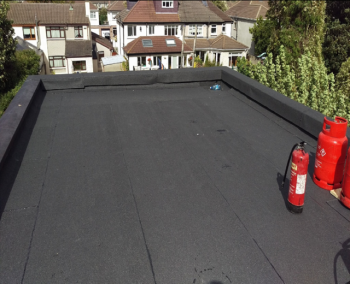 Finished Flat Roof Cork